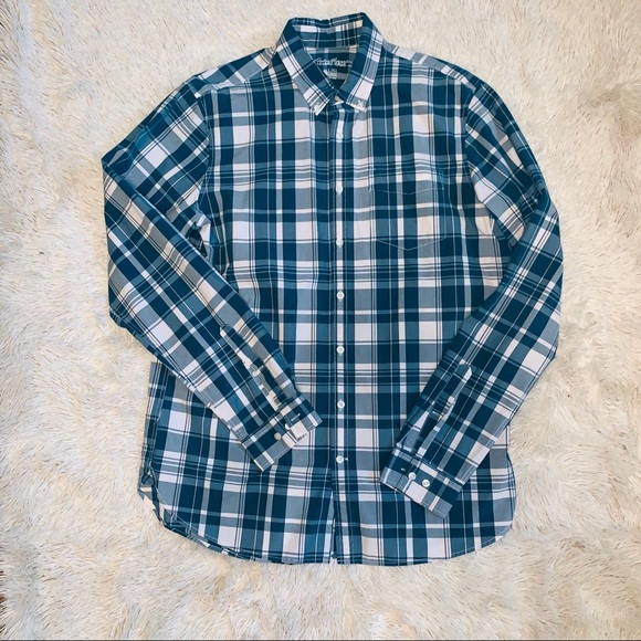 ad2b292ff4d1 Eddie Bauer Shirts | L Tall Legend Wash Button Down | Poshmark